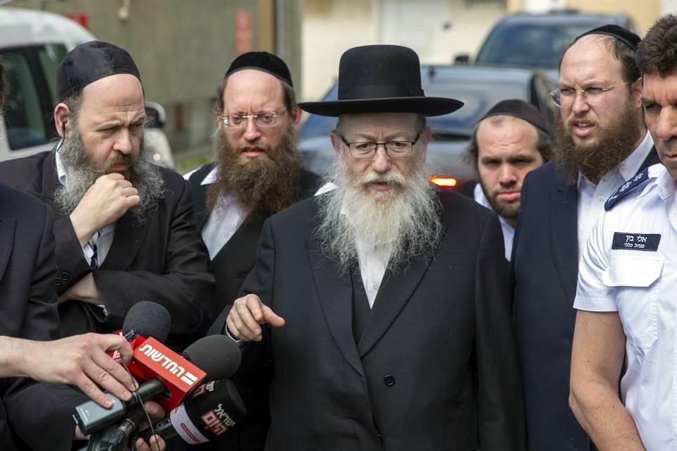 EL MINISTRO DE SALUD DE ISRAEL, LITZMAN, Y SU ESPOSA DIERON POSITIVO EN LA PRUEBA DE CORONAVIRUS